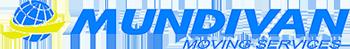 Logo de MUNDIVAN: mudanzas y guardamuebles en Madrid