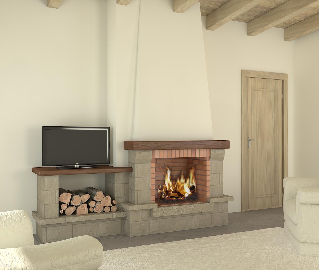 C mo acondicionar una chimenea para la llegada del invierno - Chimeneas en pisos ...
